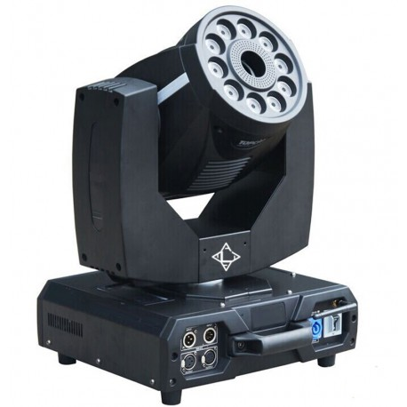 ASYMPTECH LED MOVING HEAD 10X8W BRIGHT RGBW MIX + 1500W FOG MACHINE 2-in-1