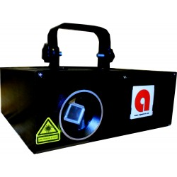Asymptech 1W RGB 4D 4-Dimensional 4-in-1 Animation Projector Stage Laser